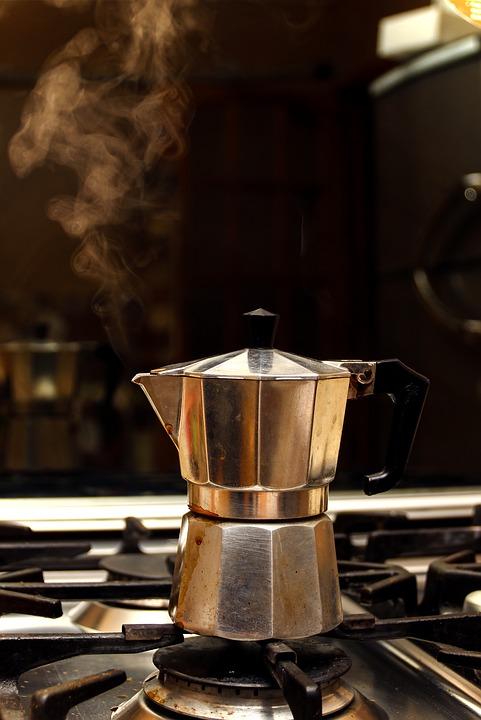 Image d'une cafetière italienne